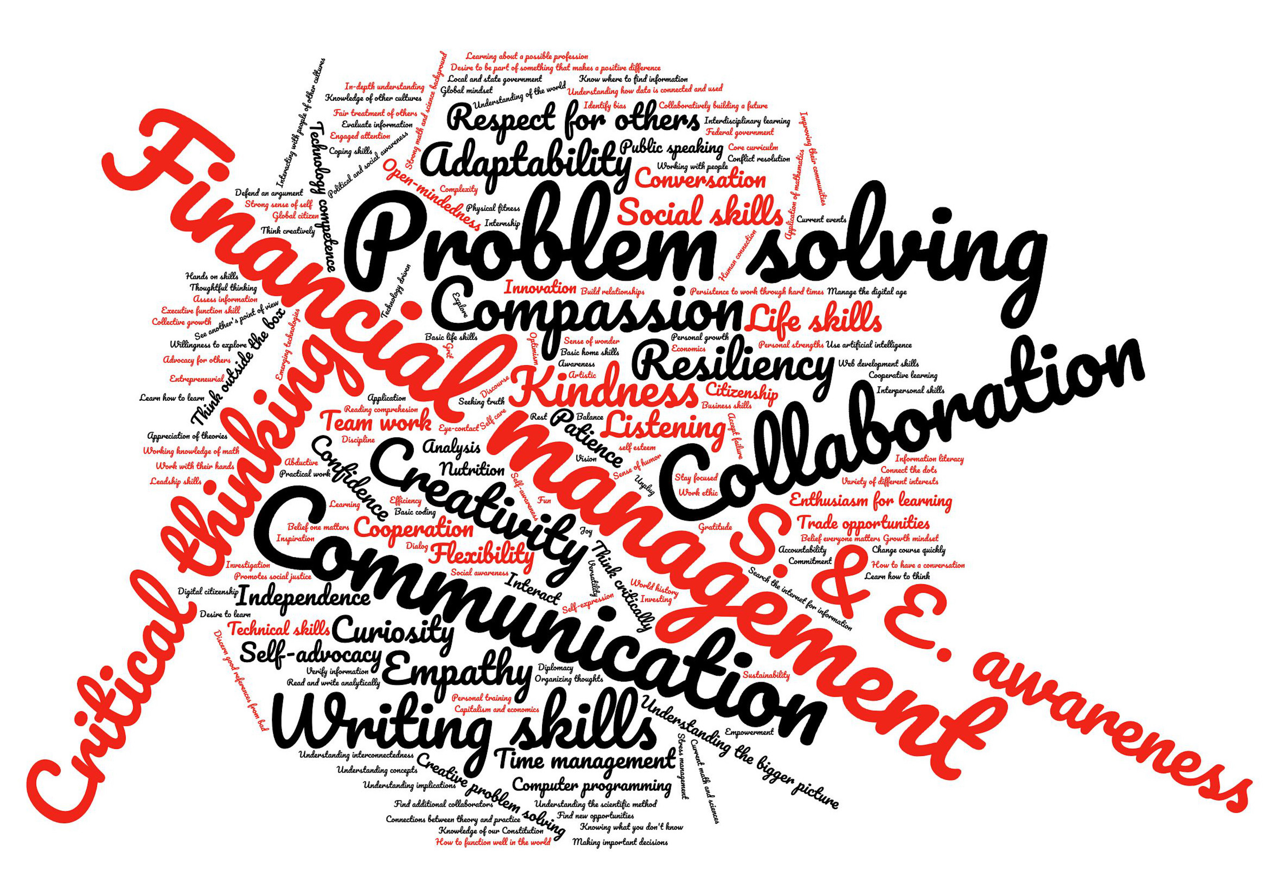 Word Cloud of Parent and Community Responses